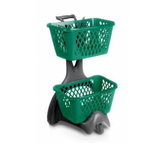 Voziček za nakupovalne košare