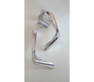Zaščita ročice zavore in sklopke Anodiziran aluminj