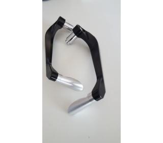 Zaščita ročice zavore in sklopke Črne barve z aluminij konico